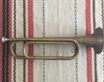 Bugle - US Regulation vintage Bugle - Boy Scouts - Boy Scouts of America - Veterans - US Army - World War II