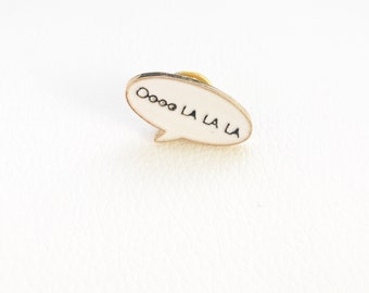 Ooo La La Message Pin (Brooch)