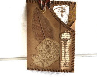 MonDori Field Notes Dashboard/folder for Fauxdori * TN * Travellers Notebook * SNAPPAP