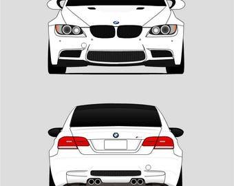 BMW E92 M3 // E90 E91 E92 E93 // BMW 3 Series //