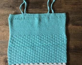 Girls crochet top