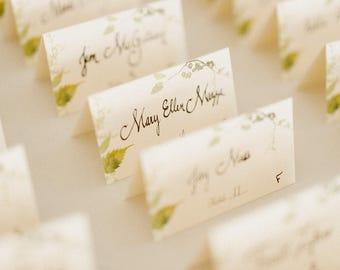 Handwritten Place Cards