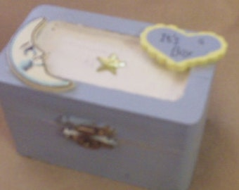 Baby Boy Treasure Box