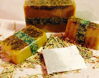 Citrus Tea Goats Milk Soap, available in 3 sizes