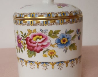 Royal Grafton Fine Bone China Malvern Sugar Bowl/Jar with Lid