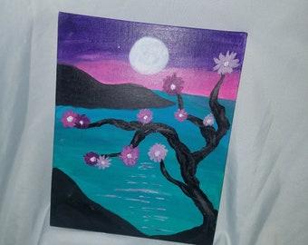 Blossom Tree ocean