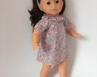 "Doll Dress in Liberty Fabric - Corolle 14"", 36 cm"