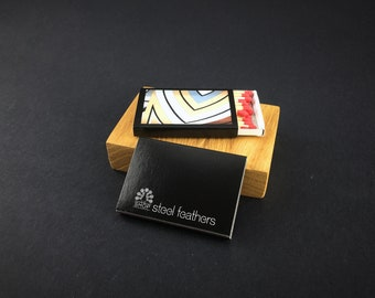 Set of 50 Business matchboxes * Personalized Matches * Logo Matches * Custom Matches * Personalized Matchbox * BEST matchboxes * Matches
