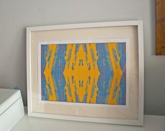 Bright tree bark pattern