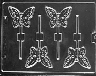 A134- Butterfly Lollipop Chocolate Mould