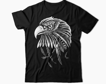 Eagle Shirt, Eagle Head Shirt, Eagles T-shirt, Dad Gift, Mom Gift, Eagle Gift, Animal Shirt, Mens Shirt, Womens T-Shirt, Birthday Gift Idea