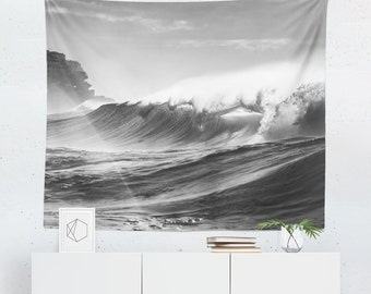 Wave Wall Tapestry | Wave Tapestry | Ocean Wall Tapestry | Ocean Tapestry | Wave Wall Hanging | Wave Wall Decor | Ocean Wall Hanging | Ocean