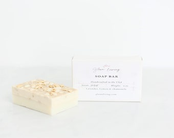 Essential Oil Soap Bar   4 oz   Self Care   Bathtime