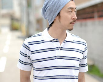 SALE 100% LINEN Beanie Made in JAPAN Hat Summer Designer Men Women Ventilating be-win