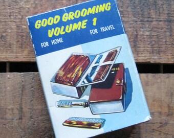 Vintage Men's Good Grooming Kit - For Home, For Travel, Mens
