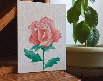 Briar Rose - Acrylic Painting