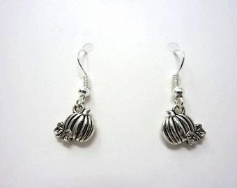Little Pumpkin Earrings / Fall Earrings / Simple Earrings / Halloween Gift / Drop Earrings / Cinderella Pumpkin Jewellery / Autumn / Harvest