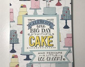 Birthday Cake Birthday/ Anniversary  Reminder Book