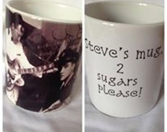 Personalised Elvis Mug