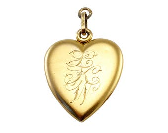 For The Love Of Your Life Vintage Heart Locket