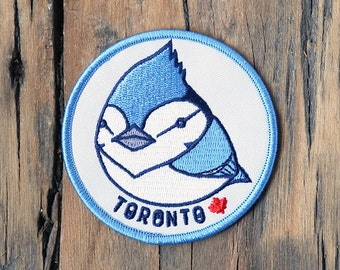 Blue Jay Patch