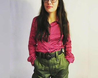 Army Trousers-Military style-Olive green-Army pants-Utility-Street fashion