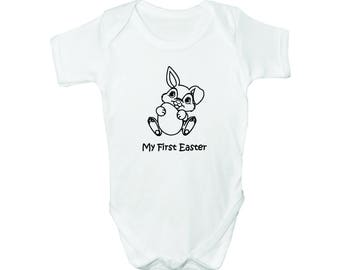 My First Easter with Bunny, Bodysuit, Romper, Baby clothes