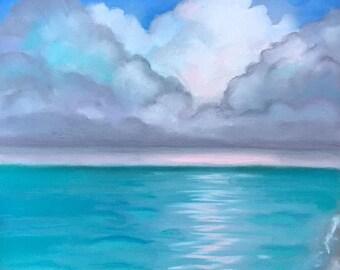 Print of Ocean Calm