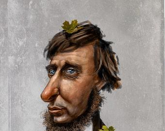 Henry David Thoreau Portrait