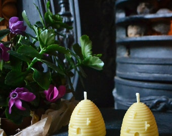 Skep - Natural Beehive Candle