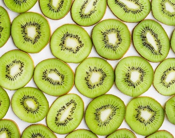 Kiwi Still Life, Food Photography, Large Wall Art, Fruit Photograph, Oversized Art, Modern Kitchen Art, Dining Room Decor, Kitchen Decor