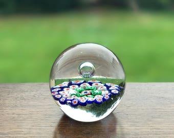 Murano glass paper weight 10cm