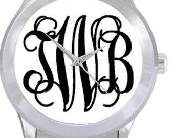 Monogrammed Watch