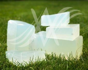 Clear Glycerin Melt & Pour Soap Base Organic Velona