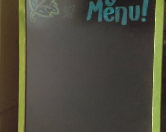 Tonight's Menu Chalkboard