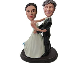 Wedding Cake Toppers, Custom wedding cake topper, wedding cake topper statue