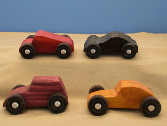 Small Classic Toy Cars Small Wood Toy Cars Wood Toys