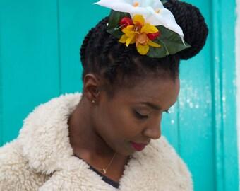 Tropical Flower Hair Accessory