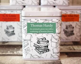 Thomas Hardy Inspired Tea - Literary Tea Collection - Tea Gift - Literary Tea Gift -Bookish Gift- Author Gift- Loose Leaf Tea - Tea