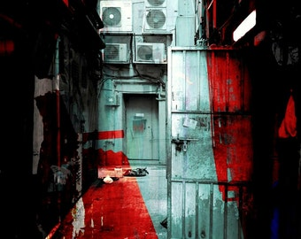 HONG KONG Downtown XIV by Sven Pfrommer - Artwork is ready to hang