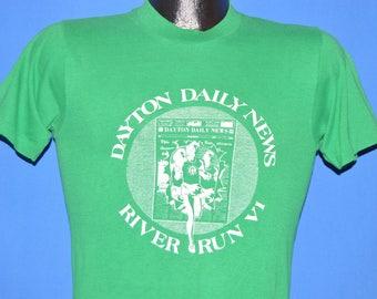 70s Dayton Daily News River Run VI t-shirt Extra Small