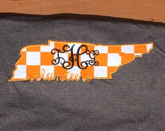 Monogram Tennessee shirt