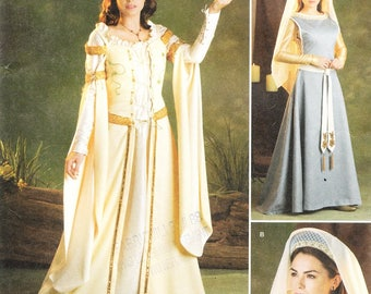 Simplicity 2573 Misses' Medieval Costume Pattern, 8-16