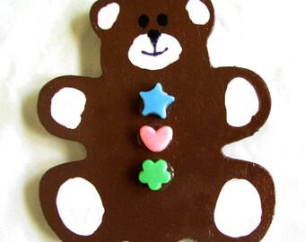 Large Teddy Bear Fridge Magnet