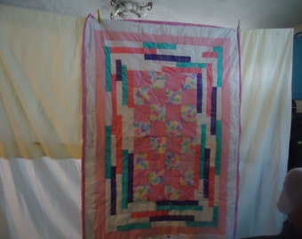Baby blanket with butterflies
