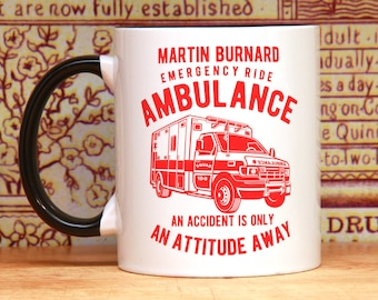 Nurse gift nurse mug gift for doctor paramedic mug EMT mug Doctor mug ambulance driver gift for him gift for her PERSONALIZED mug