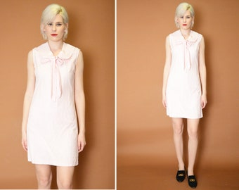 Vintage Mod mini Pink Dress
