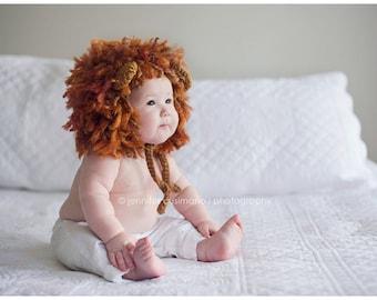 Lion Hat, Lion Headdress, Lion Hoodie
