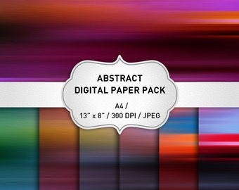 Abstract Digital Backgrounds, Digital Paper Pack, Instant Download, Abstract Digital Backgrounds, Web Backgrounds, Digital Paper