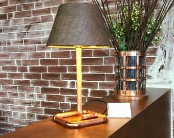Industrial design copper lamp, copper lamp